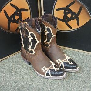 Ariat western booties